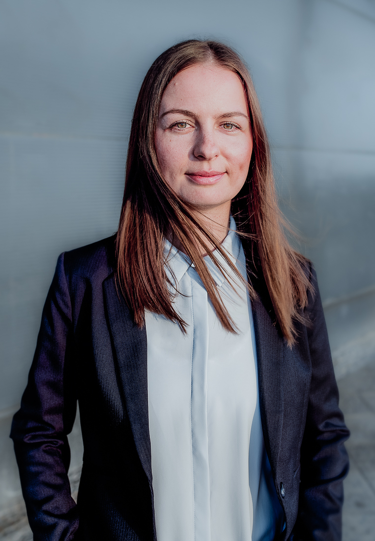 Business photography of woman in Berlin