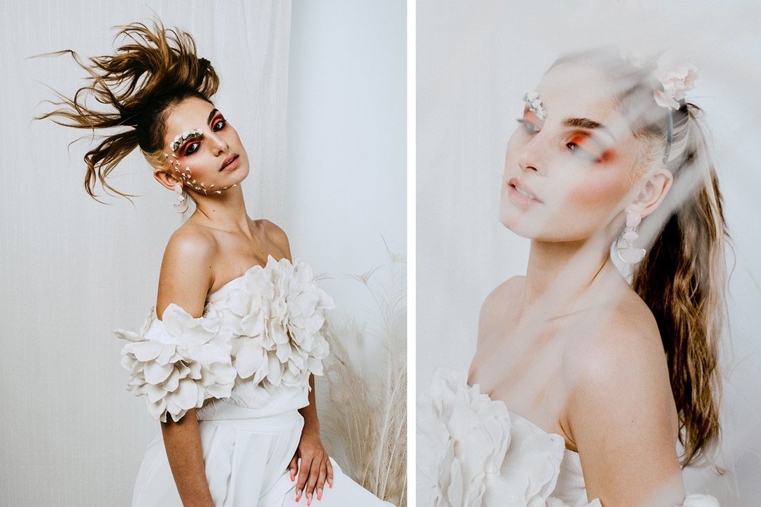 Bridal Style shooting for annabelle Hardie