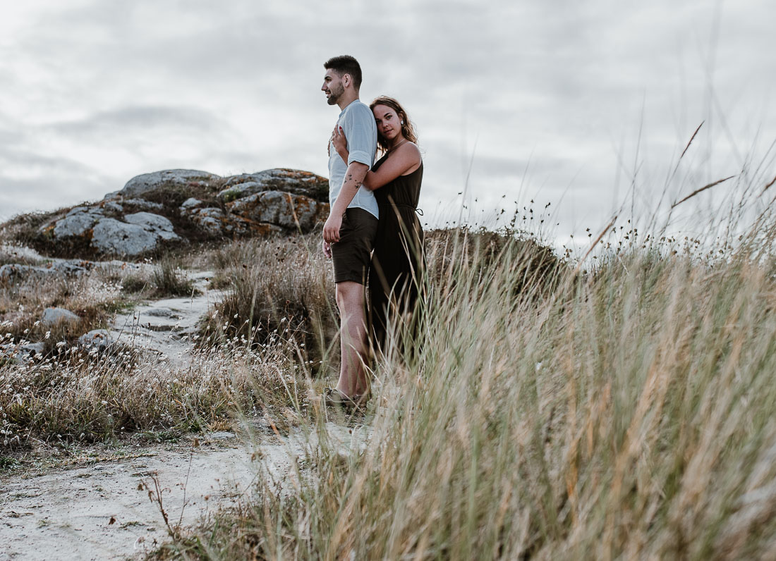 Couple Beach Shooting Spain. Candid portraits of lovers