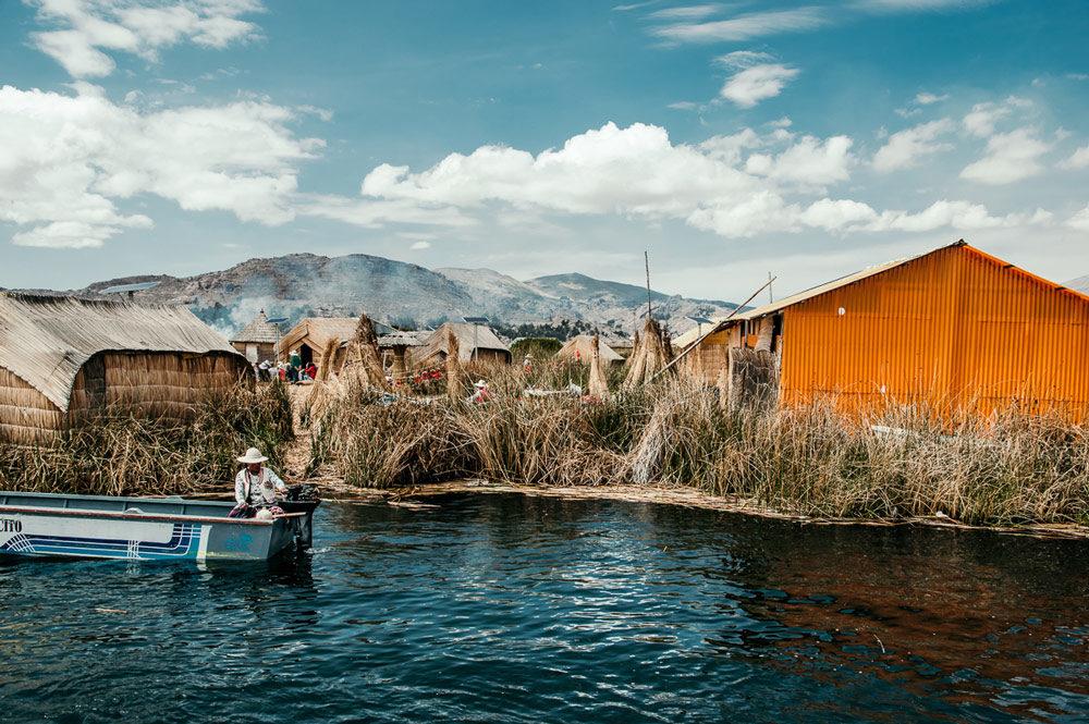 Islas de los Uros in Bolivia
