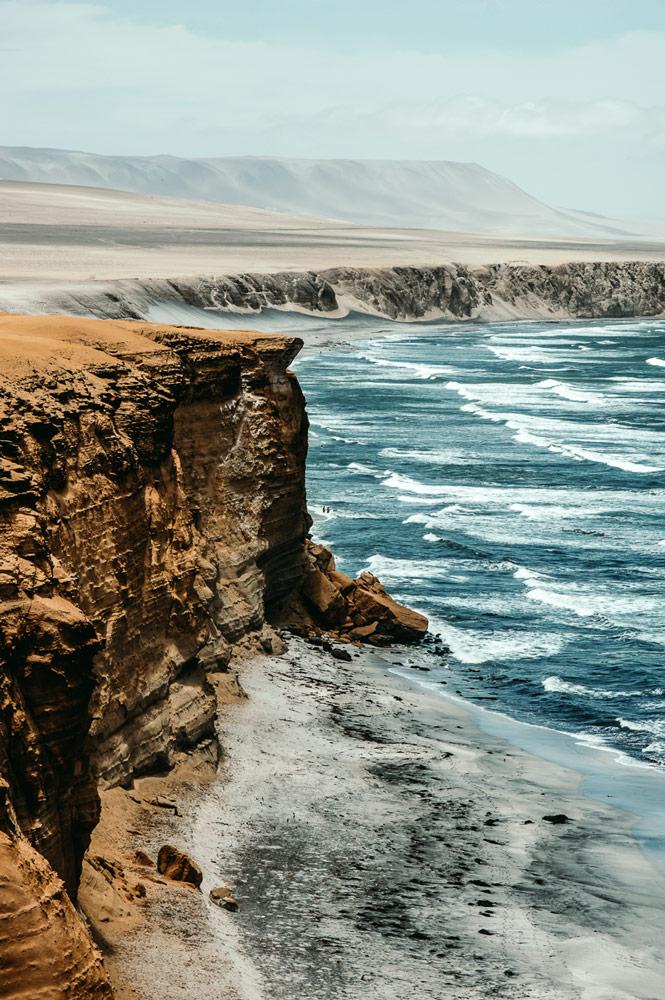 Coastline in Peru