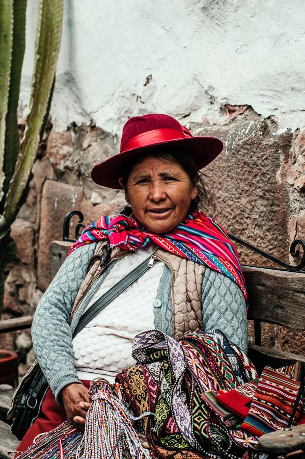 Portrait of Woman in Cusco