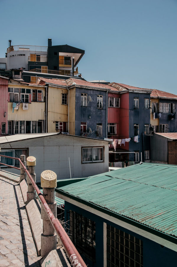 Colors of Valparaiso in Chile