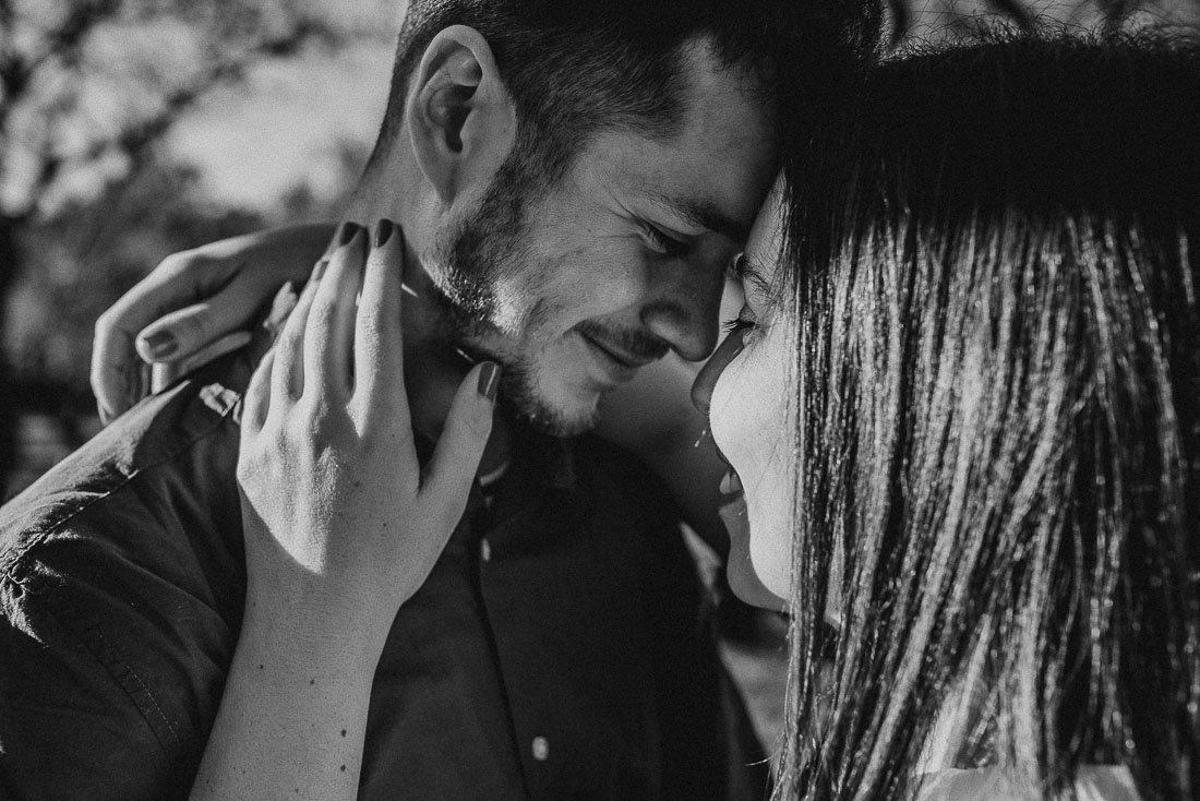 Black and white Photography of couple