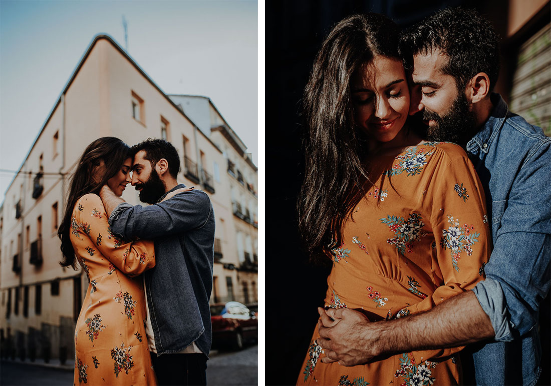 Couple photography in Madrid